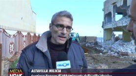 Altavilla Milicia: Continua l'opera di abbattimento delle ville abusive