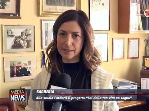 """Bagheria: Alla scuola Carducci il progetto """"Fai della tua vita un sogno"""""""