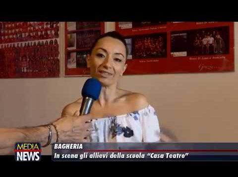 """Bagheria: In scena gli allievi della scuola """"Casa Teatro"""""""