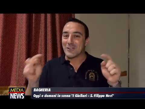 """Bagheria. In scena """"I Giullari – S. Filippo Neri"""""""