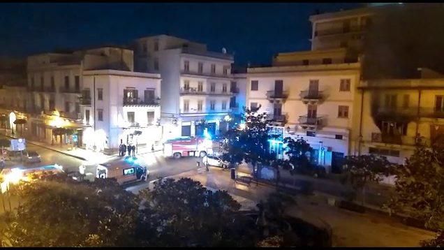 Bagheria: Scoppia una bombola del gas in una Palazzina di Piazza Madrice, grave un uomo