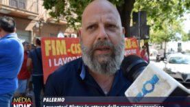 Blutec (Palermo), due giorni di mobilitazione