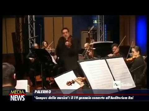 """Campus della musica"" Concerto di Salvatore Petrotto all'Auditorium Rai"