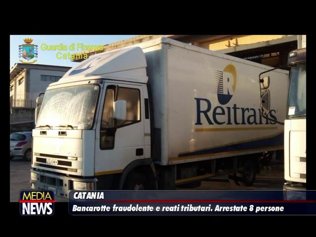 Catania, otto arresti per bancarotta. Sequestrati dieci milioni di euro