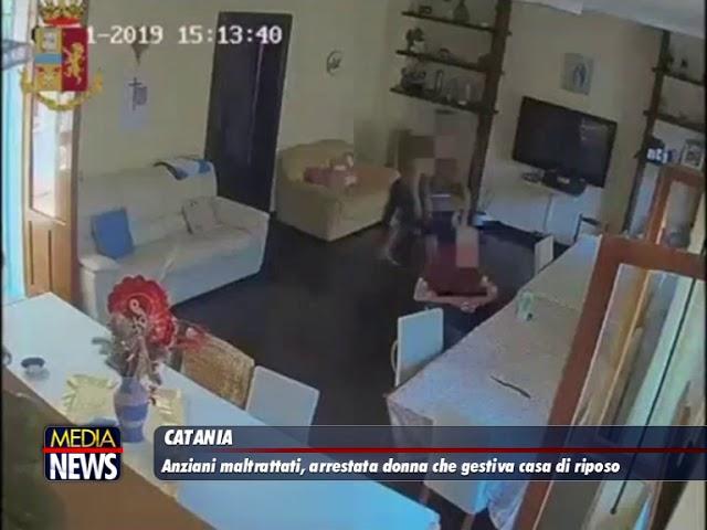 Catania:Anziani maltrattati, arrestata donna che gestiva casa di riposo