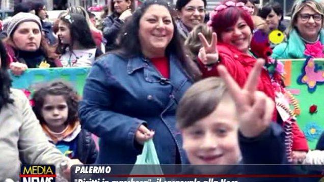 """""""Diritti in Maschera"""", il Carnevale alla Noce a Palermo"""