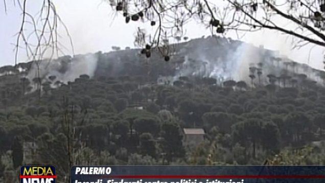 """Incendi, sindacati: """"governo regionale doveva programmare risorse per campagna anti incendio"""