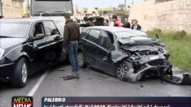 Incidenti stradali, il dato: a Palermo in un anno 20 morti e quasi 3 mila feriti
