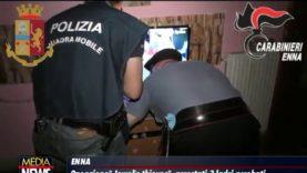 """""""Ladri acrobati ad Enna"""", i tre giovani arrestati vivono a Canicattì"""