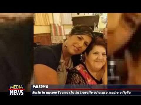 Madre e figlia morte in un incidente a Palermo, lacrime e rabbia ai funerali a Brancaccio
