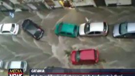 """Maltempo in Sicilia, allagamenti a Catania e Siracusa. """"Gente sui tetti, paura di morire"""""""