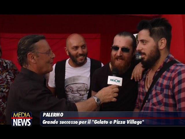 """MediaNews """"GelatoPizzaVillage"""" servizio del 1.7.2019 di Robertooddo"""