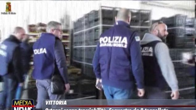 Ortaggi senza tracciabilità Sequestro al mercato di Vittoria