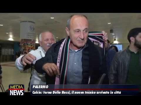 """Palermo calcio, è arrivato Delio Rossi. """"Essere qui è sempre una grande emozione"""""""