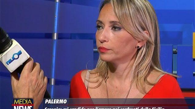 """Palermo. Caronia: """"mi candido per l'amore che nutro per la Sicilia""""."""