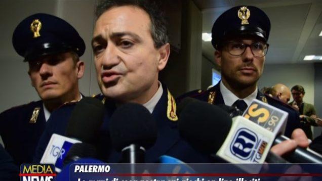 PALERMO. Le mani di Cosa Nostra sui giochi online illeciti. LE INTERVISTE