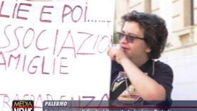 Palermo. Senza casa e con figlio disabile: protesta in piazza Pretoria