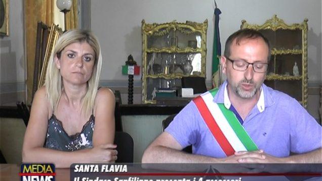 Santa Flavia: Il Sindaco Sanfilippo presenta i 4 Assessori