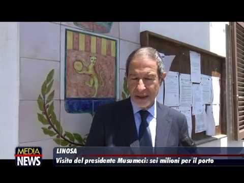 Sicilia: Musumeci, 'sei milioni per il porto di Linosa'