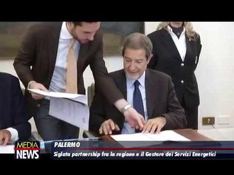 SOSTENIBILITA' AMBIENTALE, FIRMATO PROTOCOLLO D'INTESA TRA LA REGIONE SICILIANA E IL GSE