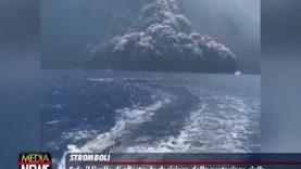 Stromboli. Sale il livello di allerta: la decisione della Protezione Civile