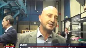 """Turano visita lo stabilimento ITALTEL di Carini: """"Un tavolo con le imprese piu rappresentative"""""""