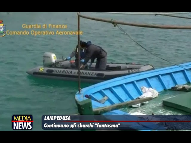 """A Lampedusa continuano gli sbarchi """"fantasma"""""""