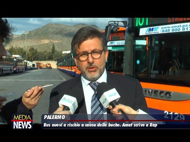 Bus a rischio a causa delle buche. Amat scrive a Rap