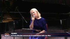 Al Teatro Massimo di Palermo successo per il recital di Anne Sofie von Otter