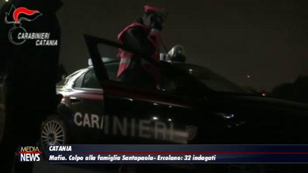 Catania, blitz contro il clan Santapaola-Ercolano. In manette 32 affiliati