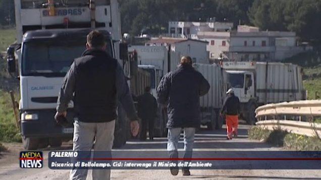 Discarica di Bellolampo. Cisl: intervenga il Ministro dell' Ambiente