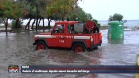 Noto, agente muore travolto dal fango, a Ispica auto investite dal torrente