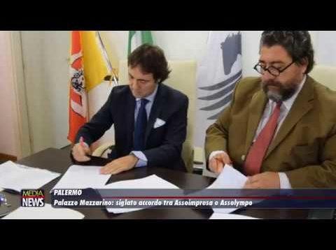 Palermo. A Palazzo Mazzarino siglato accordo tra Assoimpresa e Assolympo