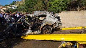 Tragedia a Belmonte Mezzagno, incidente stradale due morti e tre feriti