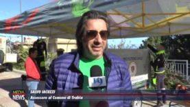 A Trabia, Unicredit ha donato nuove attrezzature alla Protezione civile locale.