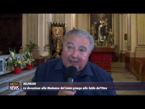Belpasso: La devozione alla Madonne del Lume giunge fino alle falde dell'Etna