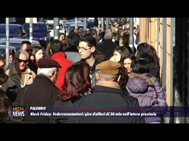 Black Friday. Federconsumatori:giro d'affari di 30 mln nell'intera provincia di Palermo