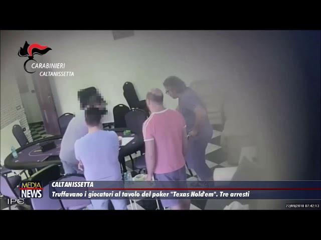 """Caltanissetta. Truffavano i giocatori al tavolo del poker """"Texas Hold'em"""". Tre arresti"""