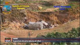 Carini: sequestrata discarica di rifiuti