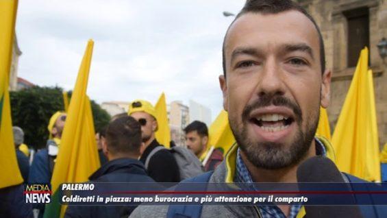 Coldiretti in piazza: meno burocrazia e più attenzione per il comparto