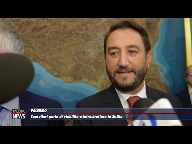 Il vice ministro Cancelleri parla di viabilità ed infrastrutture in Sicilia