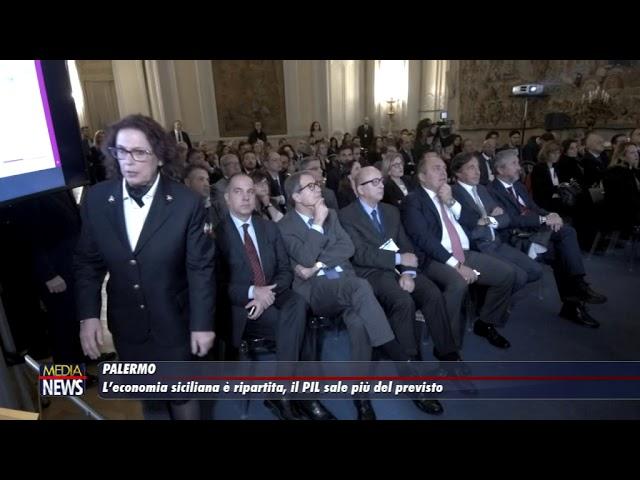 L' economia siciliana è ripartita, il PIL sale più del previsto
