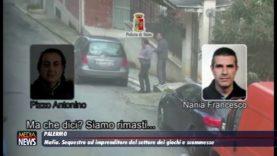 Mafia. Sequestro ad imprenditore del settore dei giochi e delle scommesse