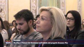 Meeting a Palazzo dei Normanni nell'ambito del progetto Erasmus Plus