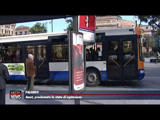 Palermo. Amat: proclamato lo stato di agitazione