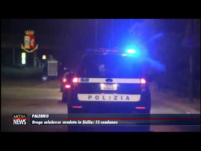 Palermo, droga calabrese venduta in Sicilia: 13 condanne