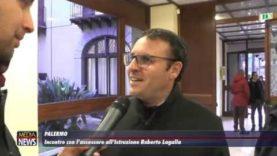 Palermo. Incontro con l'assessore all'Istruzione Roberto Lagalla
