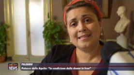 """Palermo. Presentata la campagna """"Woman's Freedom in Iran"""""""