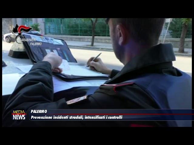Palermo. Prevenzione incidenti stradali, intensificati i controlli