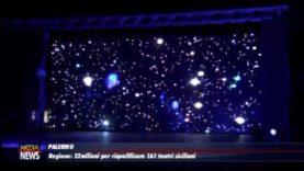 Palermo. Regione: trentadue milioni per riqualificare 161 teatri siciliani